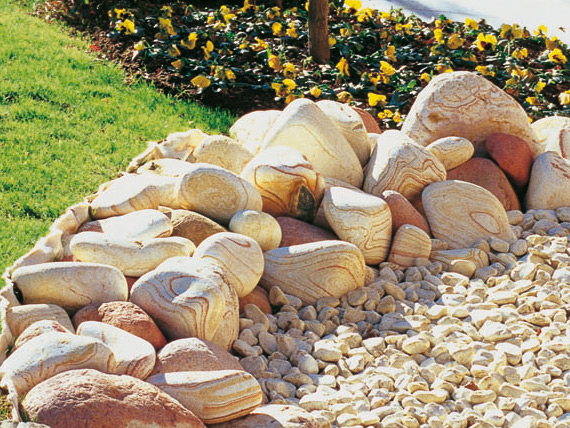 Les mat riaux naturels pour orner votre jardin le bon du net - Materiaux net ...